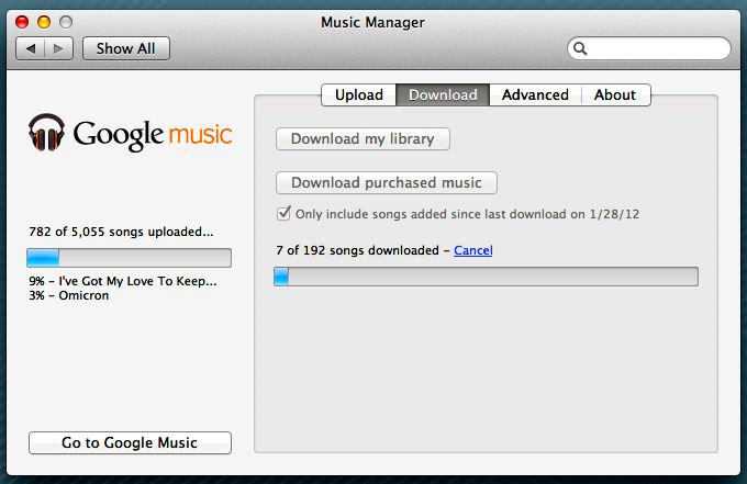 Google Music Adds 'Download Purchases' Button and It Is Still Astonishingly Bad