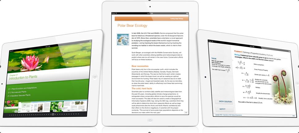iPad Apps eBooks