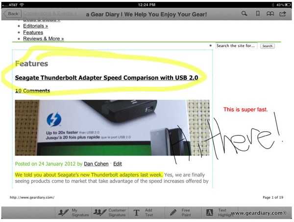 Work Gear iPad Apps Dropbox Cloud Computing