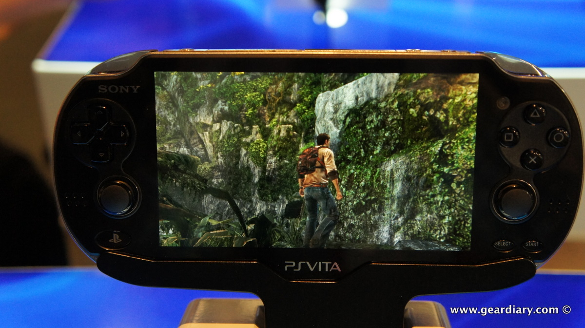 GearDiary A Quick Hands-On with the PlayStation Vita