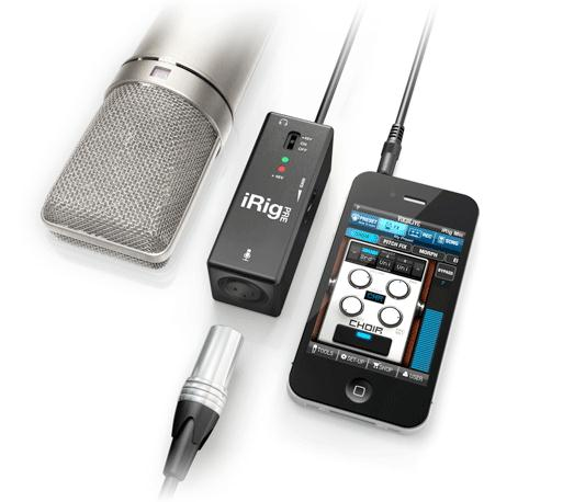 GearDiary NAMM 2012: IK Multimedia Presents iRig PRE Universal Microphone Interface for iPhone/iPad
