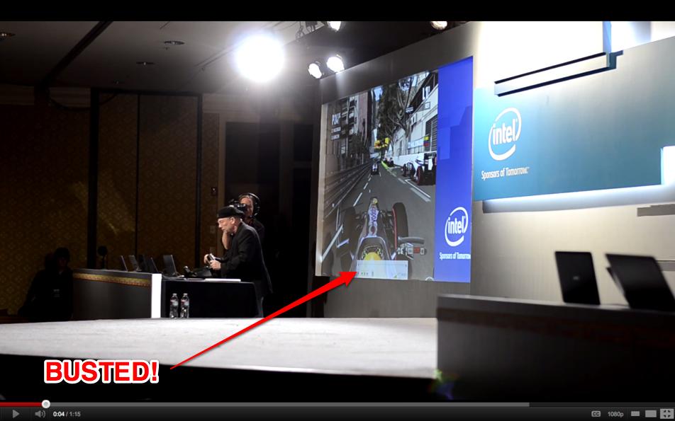 Intel Games CES