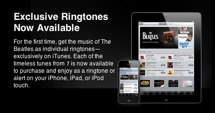The Beatles Allow Us to Once Again Pay Full Song Prices for Ringtones on iTunes!