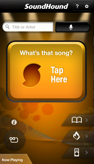 GearDiary SoundHound, the Awesome iOS App of the Day