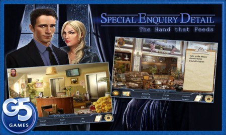 Special Enquity Detail - The Hand that Feeds for Kindle Fire Review