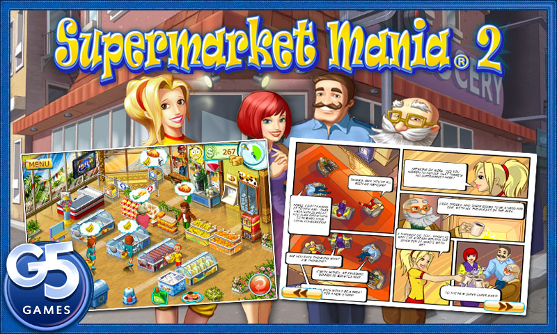 Supermarket Mania 2 Kindle Fire 1