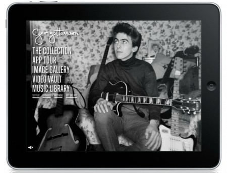 GearDiary George Harrison iPad App Tests How Much You Will Pay for Nostalgia and Guitar Info