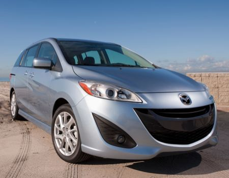 GearDiary Mazda Makes Minivans Cool(ish) With Mazda5