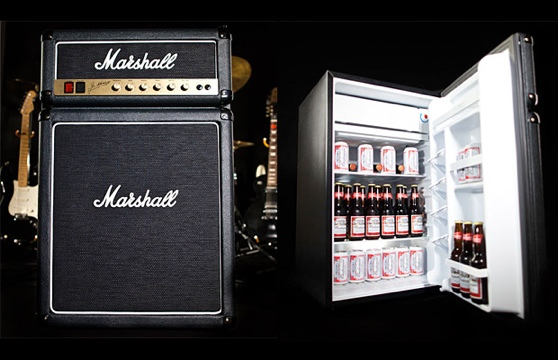 GearDiary Keep Your Beer Cool and Your Tunes Loud with the Marshall Fridge