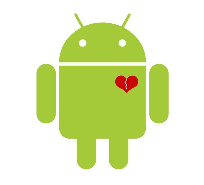 AndroidBrokenHeart