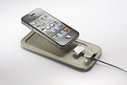 GearDiary The CalypsoPad Cradles Your iPhone in Buttery Leather