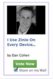 Final Reminder to Support Dan on Zinio and Help Foundation Beyond Belief Charity!