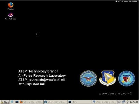 GearDiary Lightweight Portable Security Linux: The DoD's Linux Distro