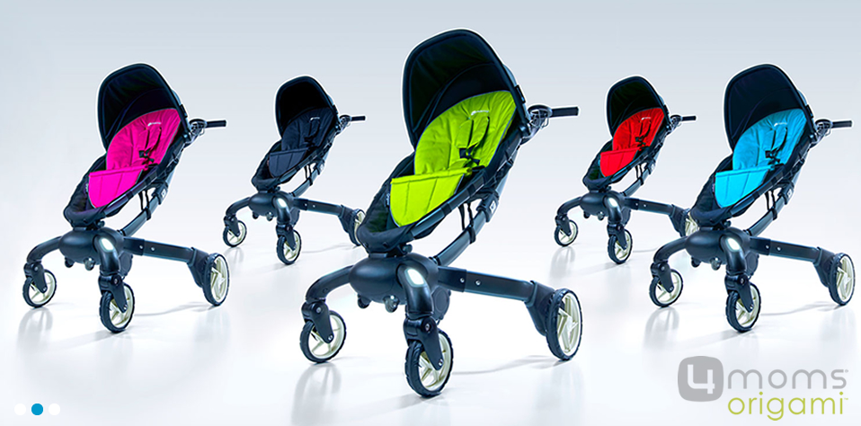 Meet the 4moms Origami Automatic Folding Stroller Demo Pramworld ... | 474x958