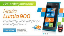 GearDiary Nokia Lumia 900 Now Available for Pre-Order from AT&T