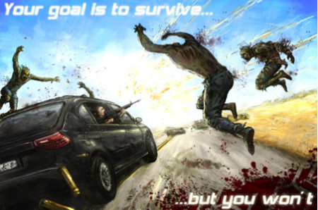 GearDiary Zombie Highway for iPhone/Touch and iPad