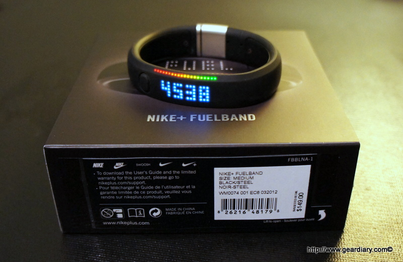 GearDiary Nike+ Fuelband Review; 'The Out-Of-Shape Geek's Dream Fitness Motivator