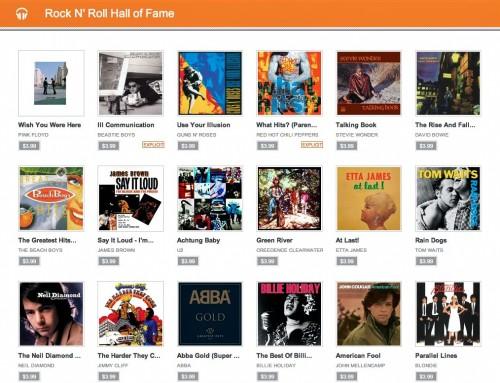Google RnR Hall of Fame Sale