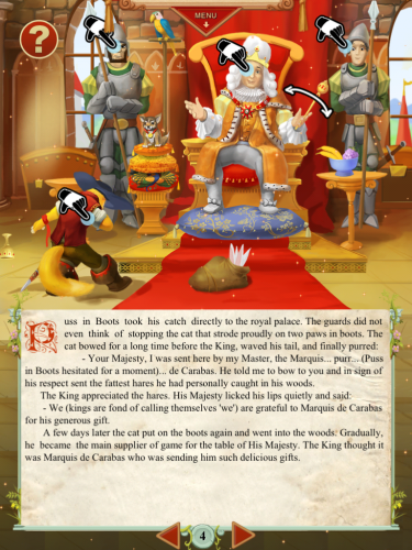 Puss in Boots-HD Interactive Story for iPad: More Than Just a Story!