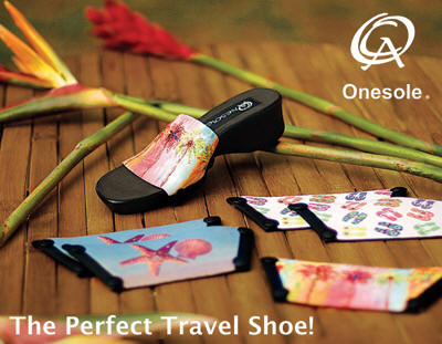 GearDiary Quick Change Artist OneSole Shoes Allow You to Pack One Sole, Yet Bring Many Pairs of Shoes