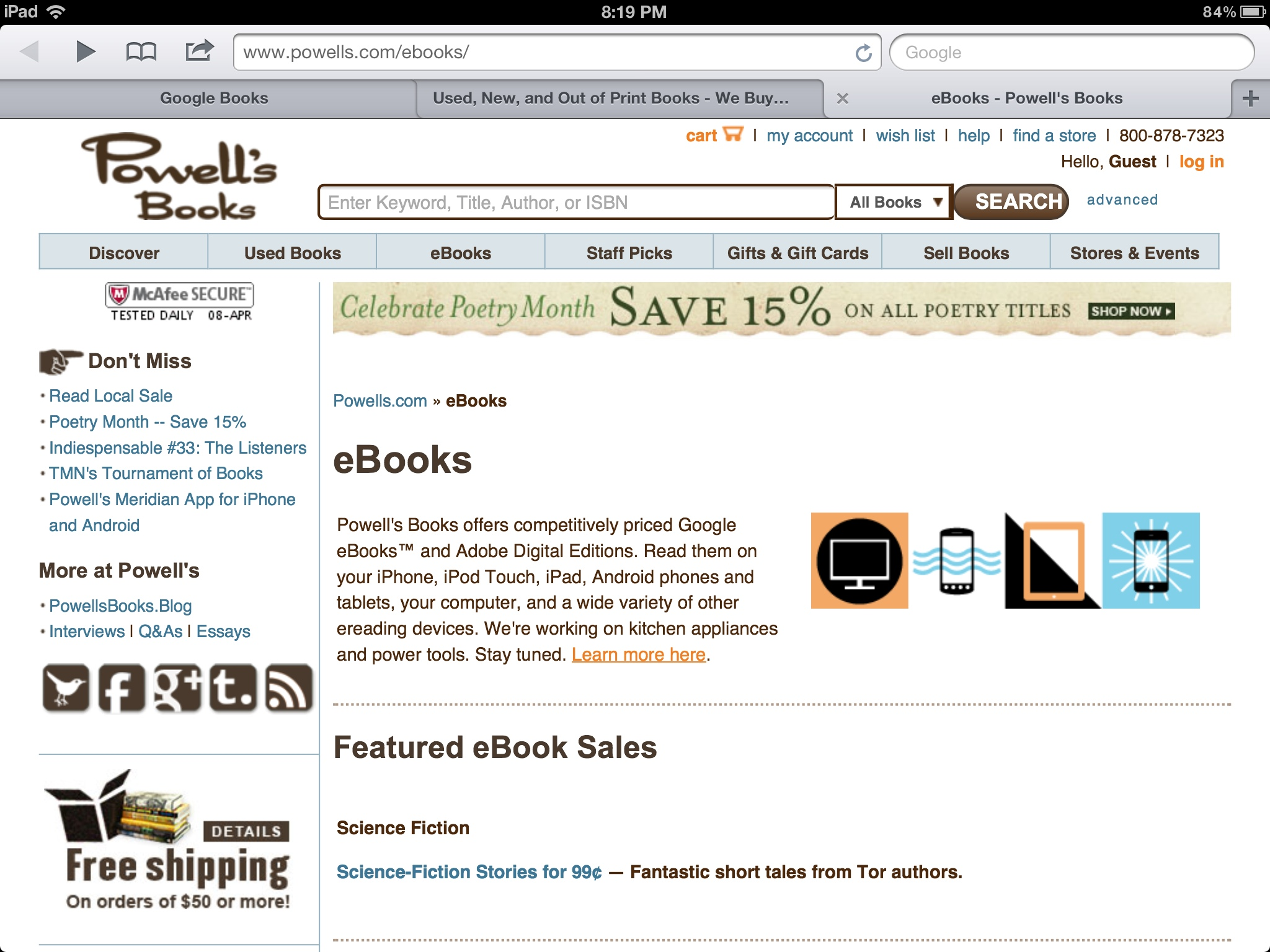 GearDiary Google Books Plans to Drop Independent Bookstores