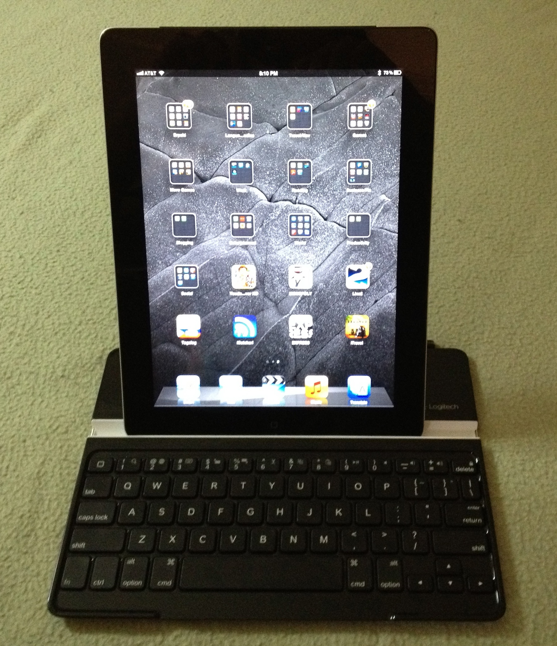 GearDiary The Logitech Ultrathin Keyboard Cover for iPad 2 and the New iPad Review