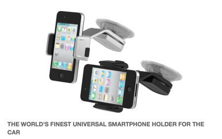 Kickstarter iPhone Gear Car Gear Android Gear