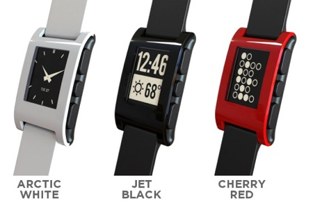 GearDiary Pebble, the E-Paper Watch for iPhone and Android: Kickstart This!