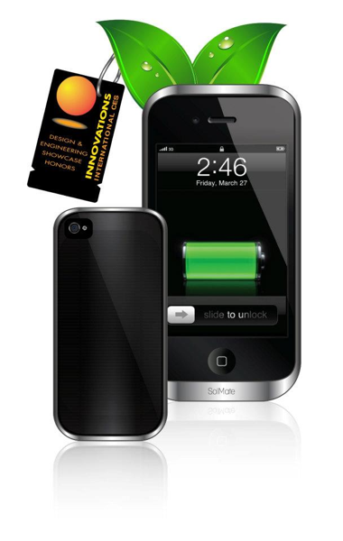 GearDiary SolMate, iPhone's Hottest Solar, Inductive and Battery Case, Kickstart This!