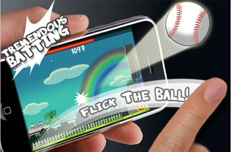 GearDiary Flick Home Run! for iPhone and Touch