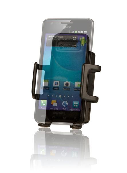 Sleek Galaxy Facing Left Transparent Phone