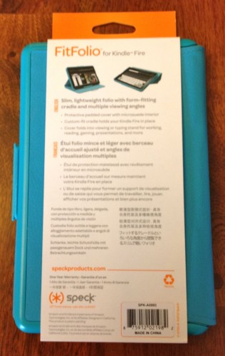 Speck FitFolio Kindle Fire2