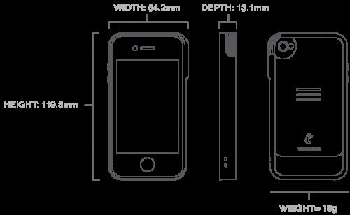 GearDiary Trygger iPhone Camera Case