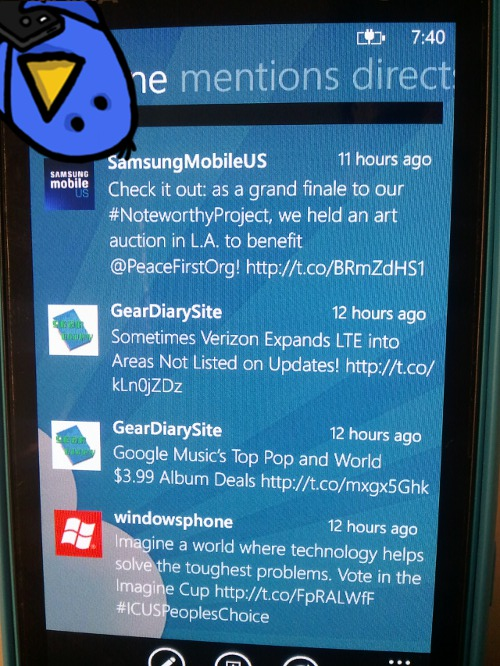 Windows Phone Apps Twitter