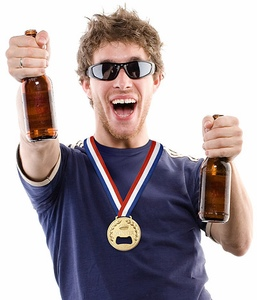 Drink Like a Winner with a Gold Medal Bottle Opener