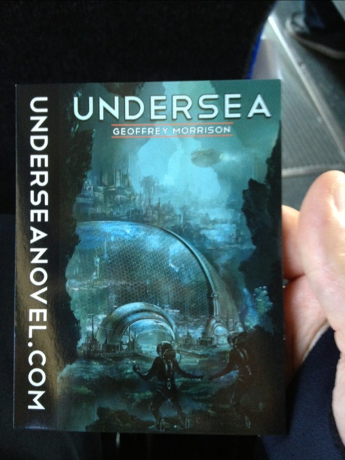 "GearDiary Geoff Morrison's ""Undersea"" Only .99 On Kindle!"