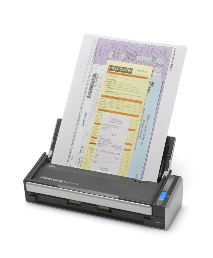 GearDiary Fujitsu Introduces the ScanSnap S1300i for PC and Mac; Fast Scanning and Powerful Integrations