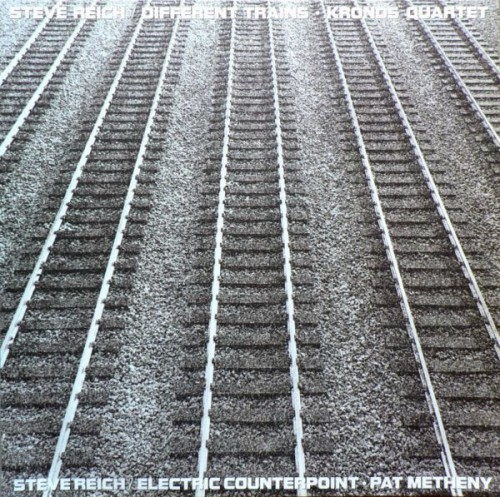 Vinyl Re-Visions Looks at Steve Reich's Different Trains  (Classical, 1988)