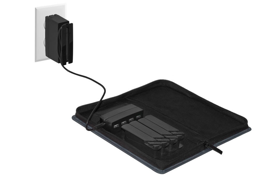 AViiQ Portable Charging Station with Cable Rack System Now Avaialable