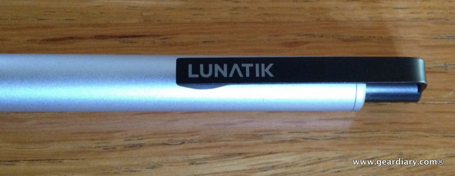 GearDiary LunaTik Touch Pen Video Review, Kickstart This!