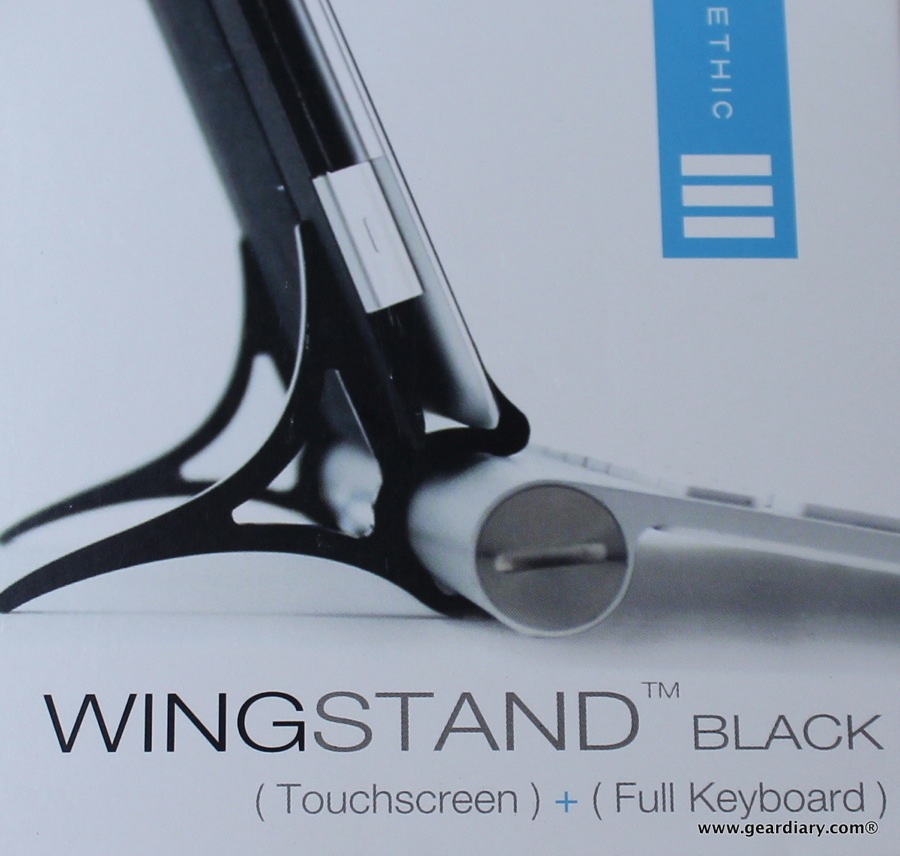GearDiary WINGStand for Apple iPad and Bluetooth Keyboard Review