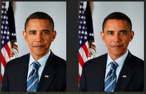 Obama's looking pretty good for 50.