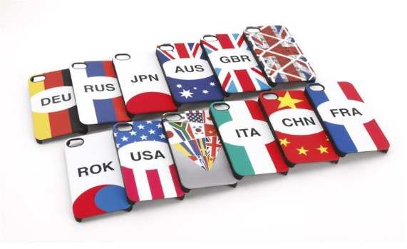 "GearDiary iPhone 4 Cases Get Patriotic With Griffin's New ""Nations"" Lineup"