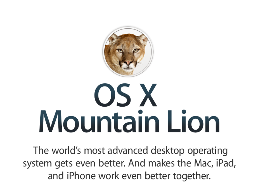 "GearDiary Mountain Lion Roars 3 Million Times, and Now It Is Time to ""Read"" the Manual"