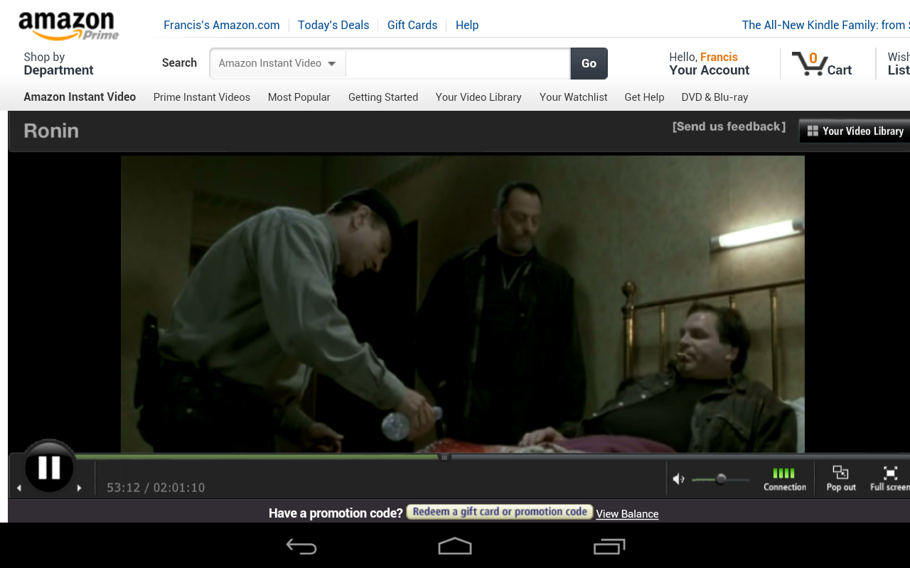GearDiary How to get Amazon Prime Streaming Media and Flash Content to Play on your Nexus 7