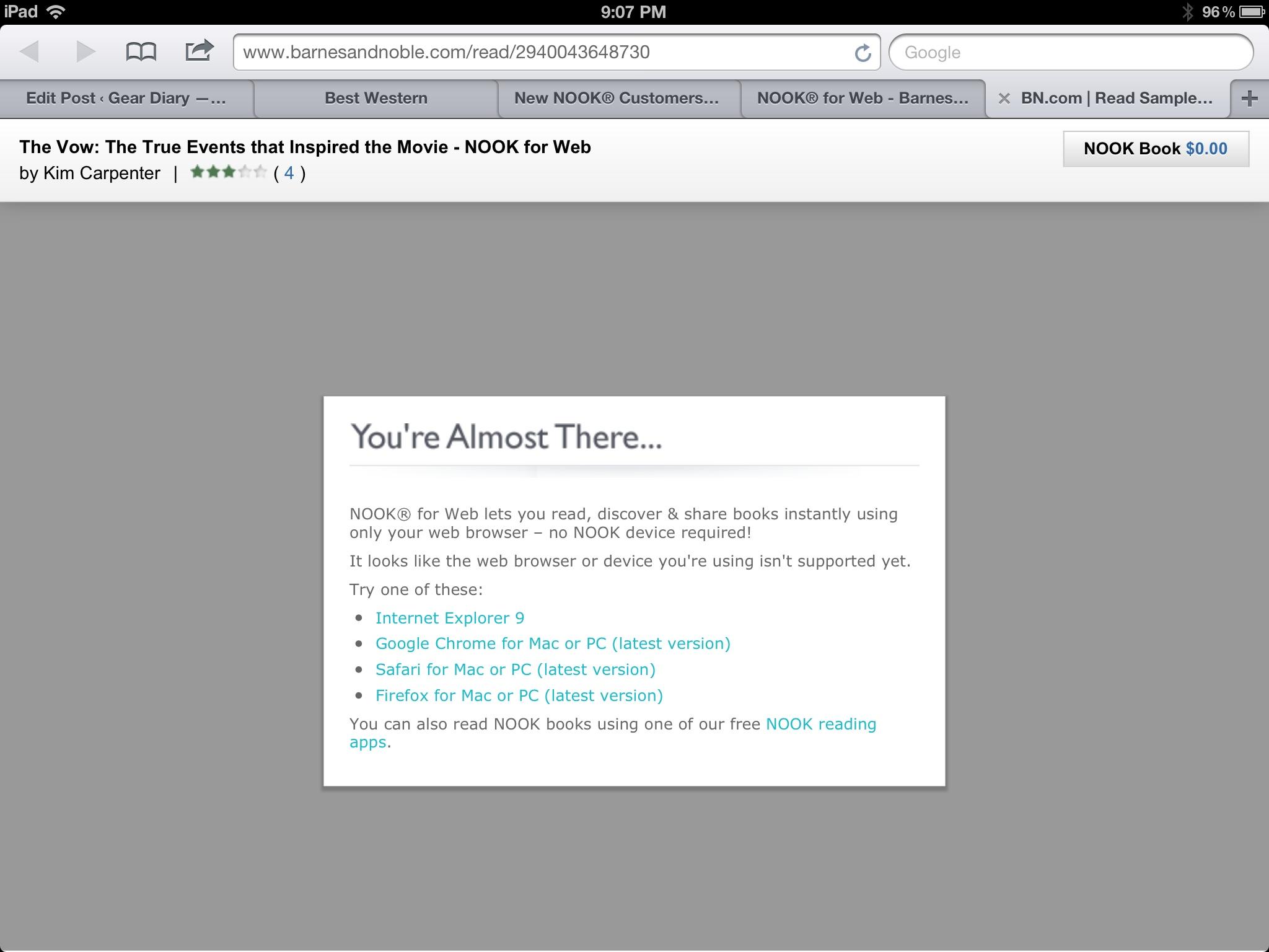 NOOK Goes Web Based