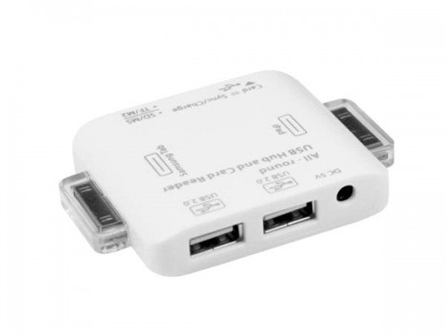 USBFever Releases Universal USB Hub and Card Reader for iPad & Galaxy Tabs!