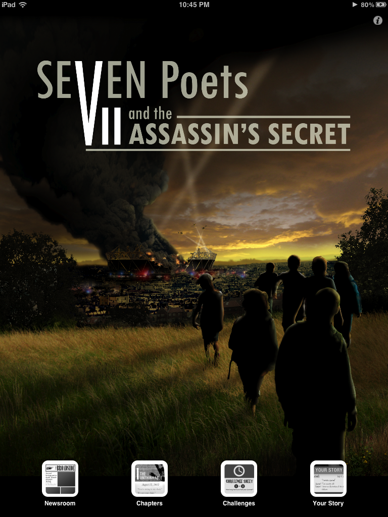 GearDiary Seven Poets and the Assassin's Secret Is a New Kind of Novel