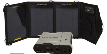 GearDiary Goal Zero's Two New Solar Recharging Kits Shine at Outdoor Retailer