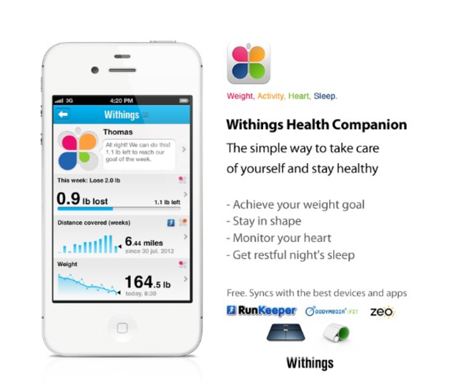 Withings iPhone Gear Health Tech